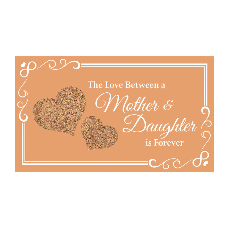 The Love Between A Mother  Daughter is Forever Mirror Music Box 6543 001 9 4