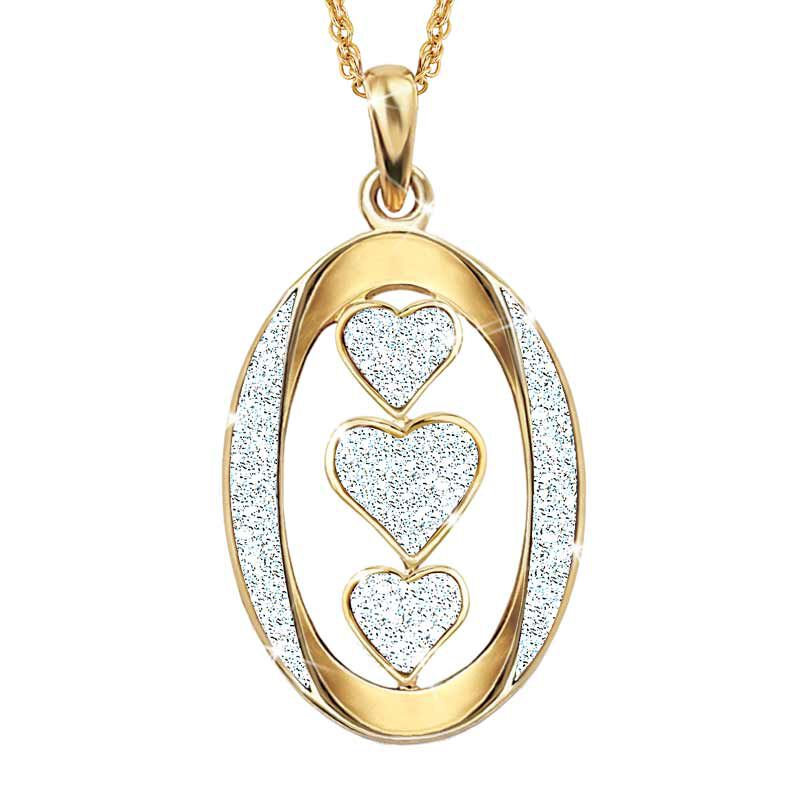 My Granddaughter I Love You Diamond Pendant 5185 001 4 2