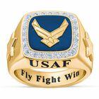 Personalized US Air Force Ring 1660 004 1 1