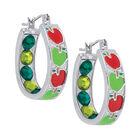 Crystal Celebrations Hoop Earrings 4608 0032 d september