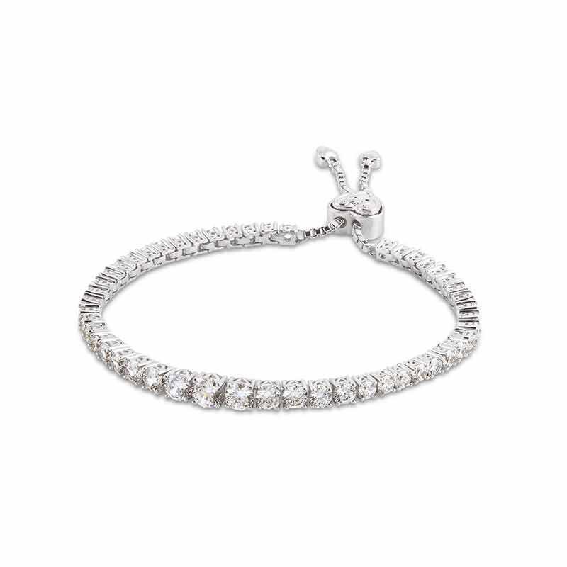 Forever Loved Daughter Tennis Bracelet  Bonus Earrings 6472 001 4 2