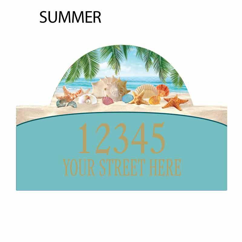 Seasonal Sensations Personalized Address Plaque 1919 002 4 2