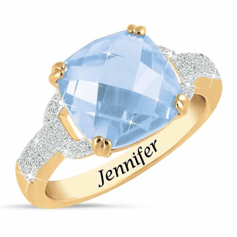 Birthstone  Diamond Ring 1159 001 5 3