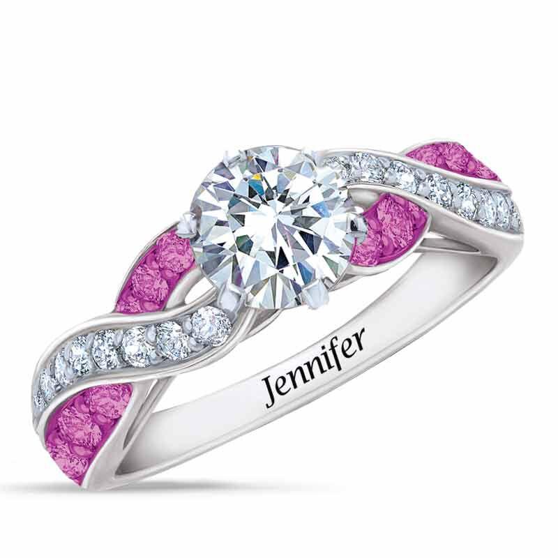 Birthstone Swirl Ring 6366 001 3 10