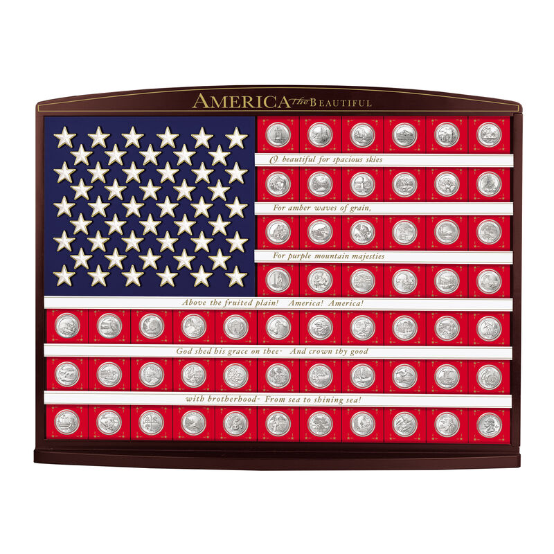 Land of the Free State Quarters Flag 5181 0059 a main
