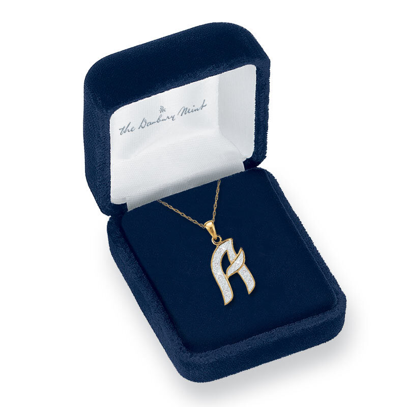 Diamond Initial Pendant 9731 001 5 1