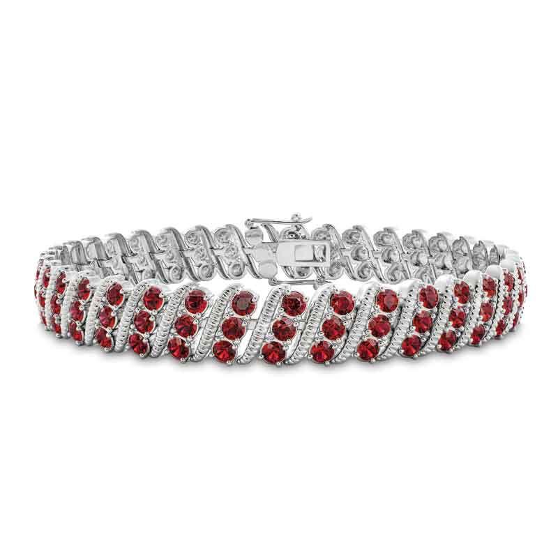 Bold  Brilliant Birthstone Bracelet 6003 001 2 1
