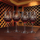 Personalized Set of Four Wine Glasses 5675 0029 a main