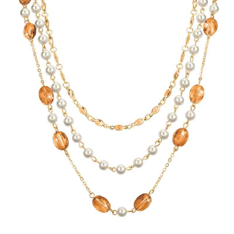 Birthstone Elegance Necklace Set 1478 001 9 11