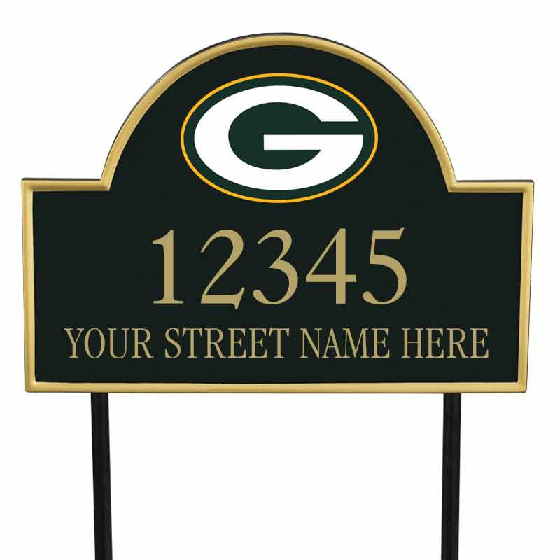 The NFL Personalized Address Plaque 5463 0355 t packers