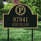 The Monogrammed Address Plaque 5719 001 9 2