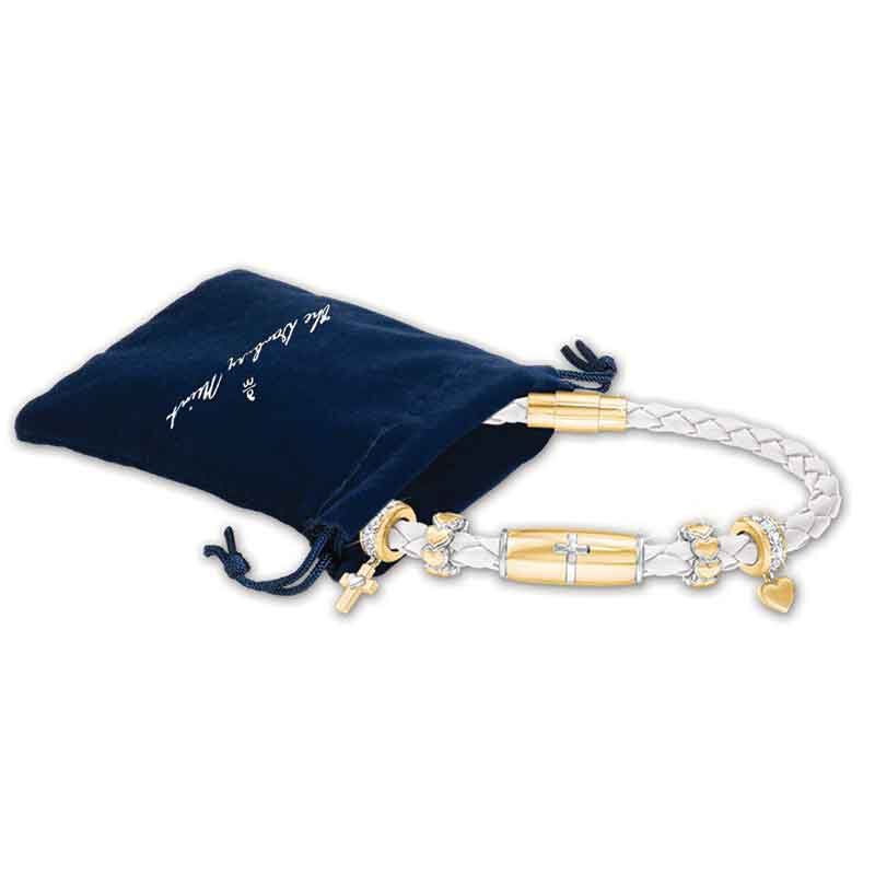 Trust in the Lord Daughter Leather Bracelet 1153 001 1 3