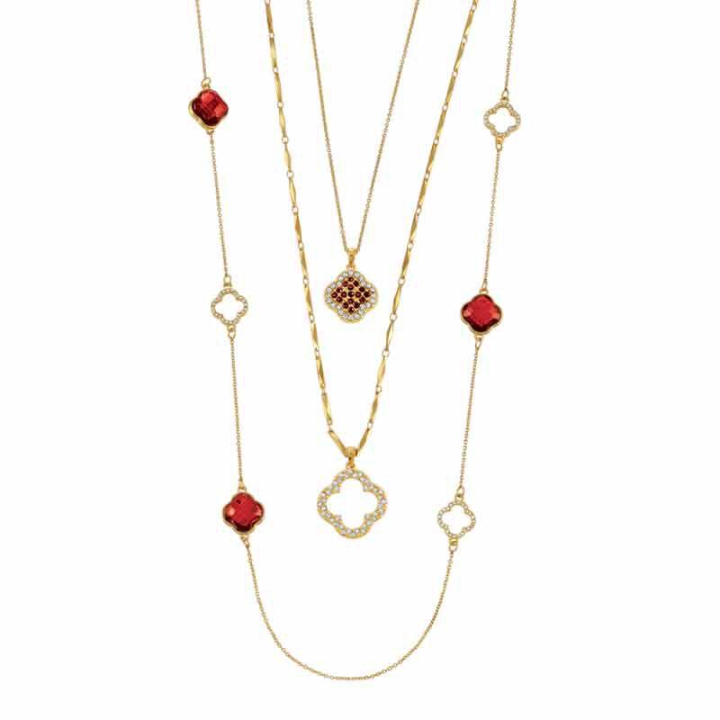Birthstone Beauty Layered Necklace Set 6594 001 7 1