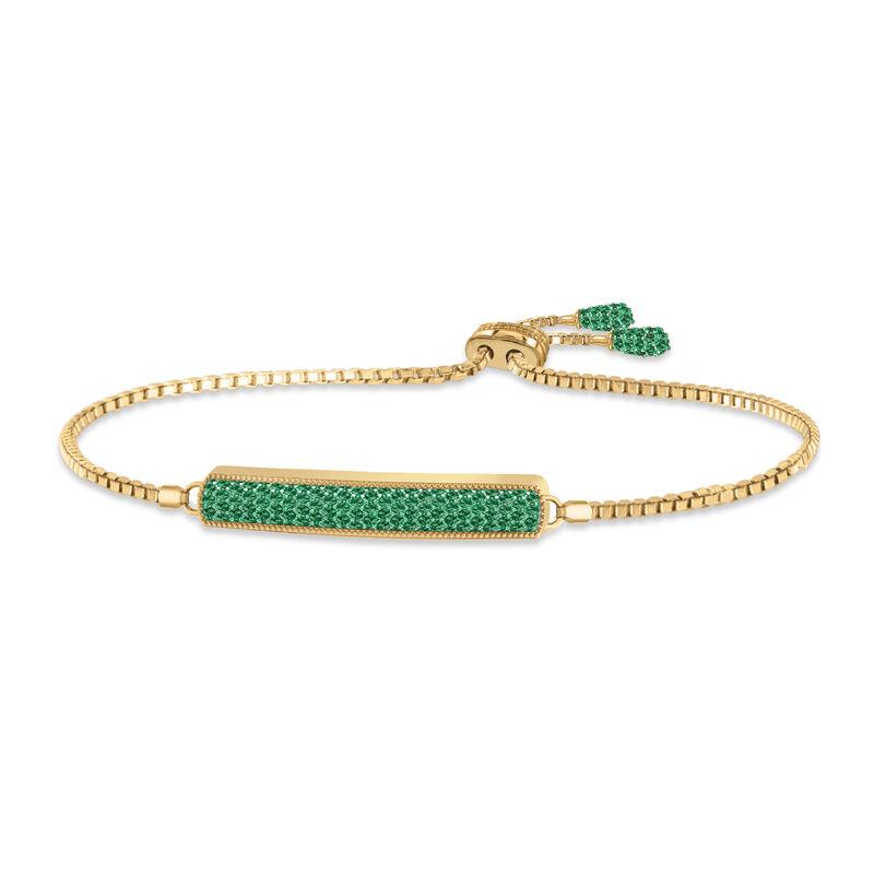 Birthstone Bolo Bracelet 6501 0027 e may