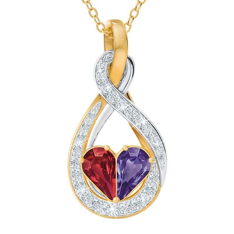 Joined in Love Infinity Heart Pendant 2326 001 1 1