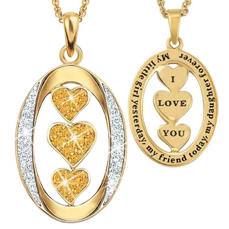 My Daughter I Love You Diamond Pendant 1136 001 3 11