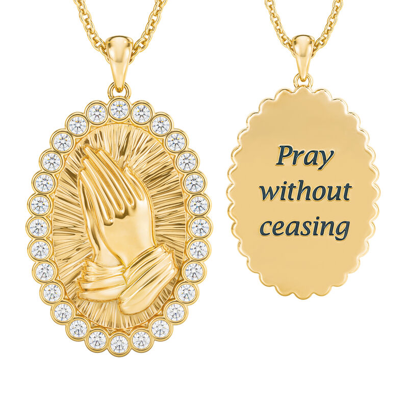 Power of Prayer Pendant 10181 0018 a main