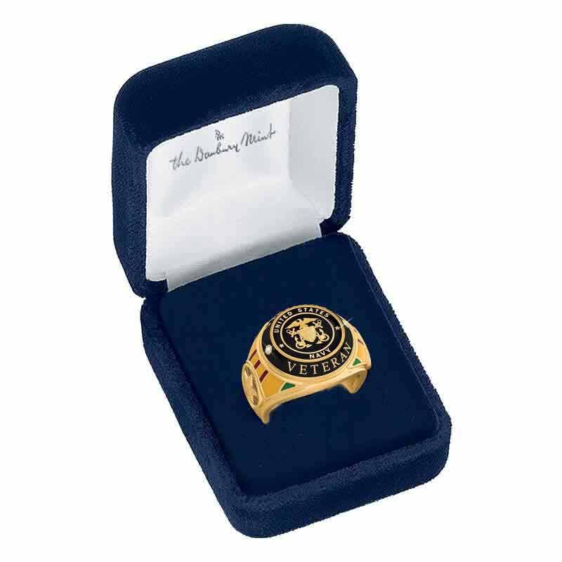 US Navy Veteran Ring 1861 002 2 5