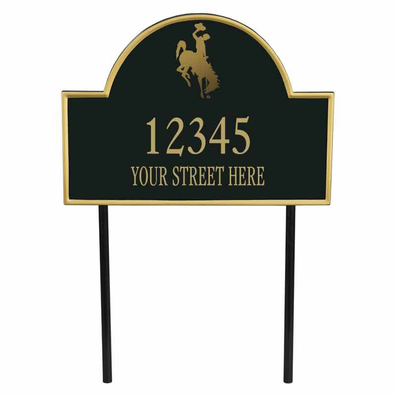 The Wyoming Personalized Address Plaque 1073 004 2 1