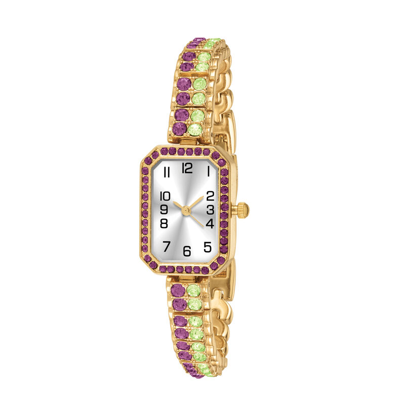 Crystal Touch Monthly Watches 6831 0010 b april