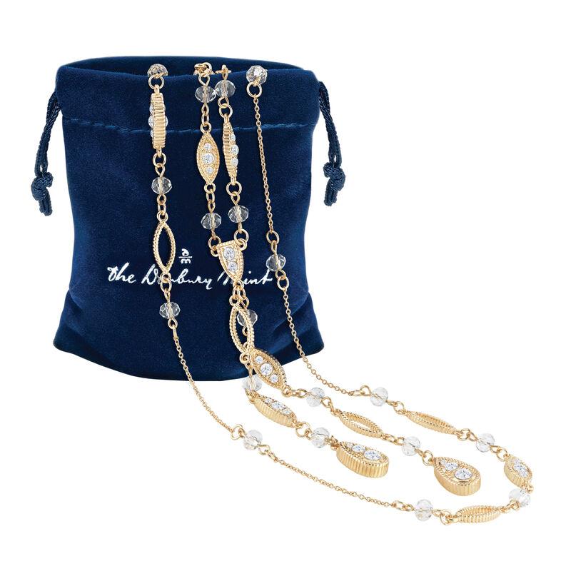 Endless Splendor Layered Necklace Set 6595 0016 g pouch