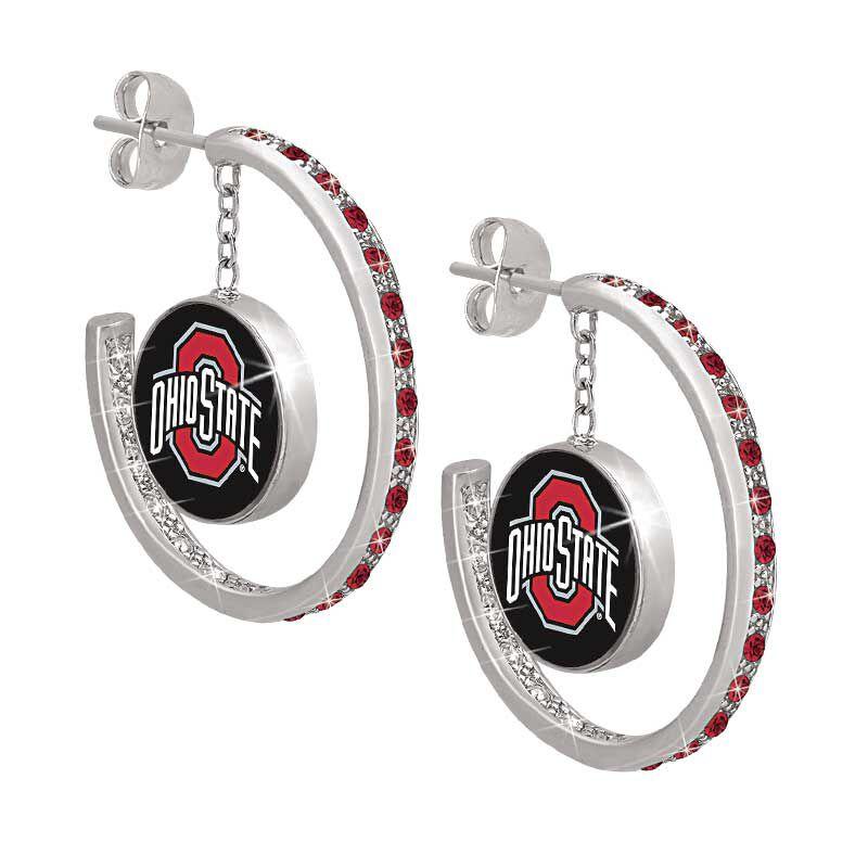 Ohio State Logo Earrings