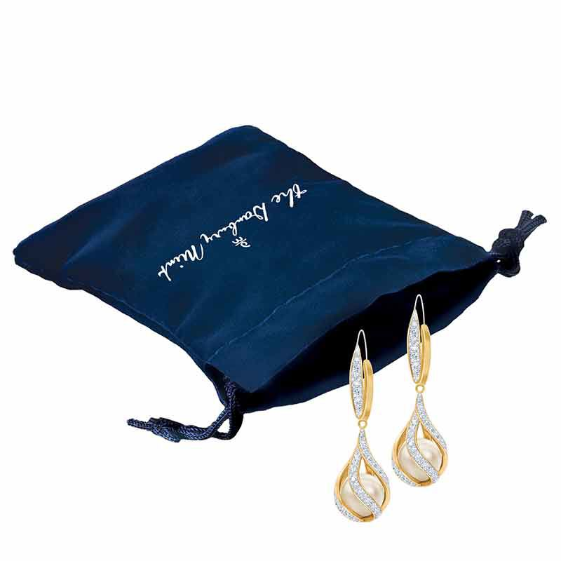 Embraced with Love Granddaughter Pearl  Diamond Earrings 2274 005 4 2