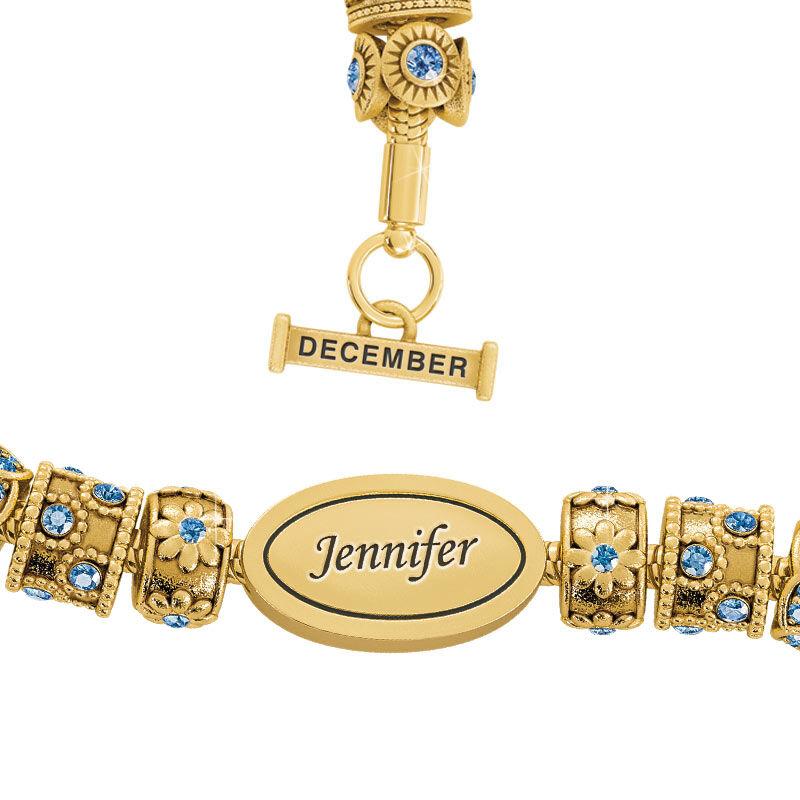 Beauty Personalized Charm Bracelet 2406 001 4 12