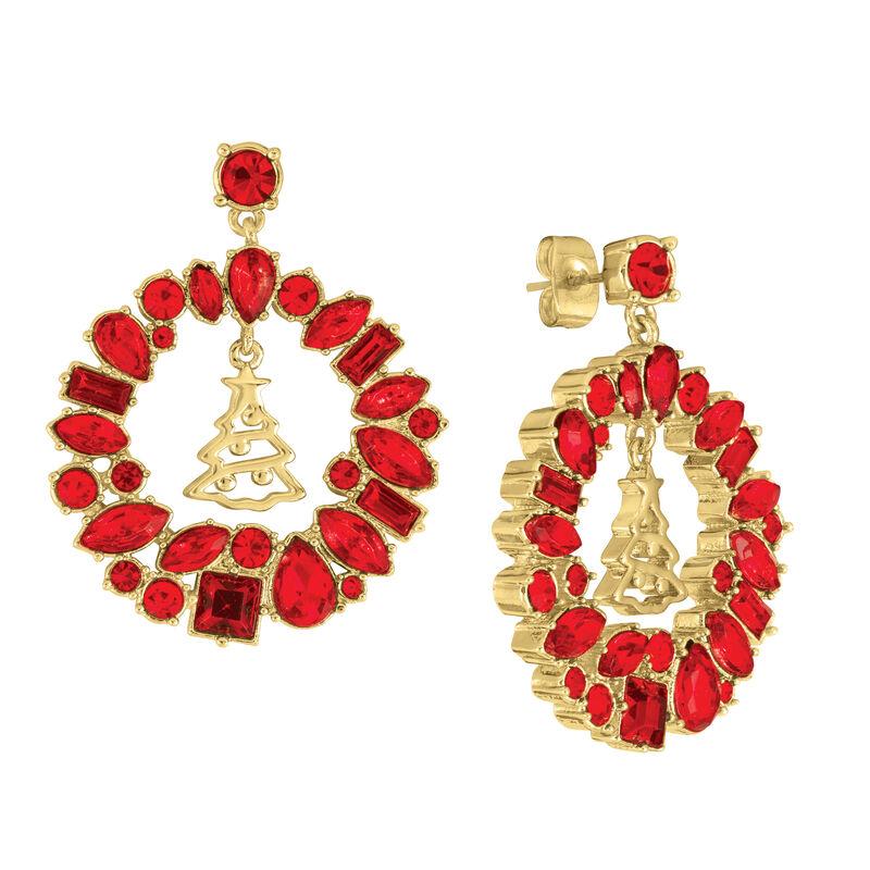 Monthly Crystal Earrings 6881 0019 h december