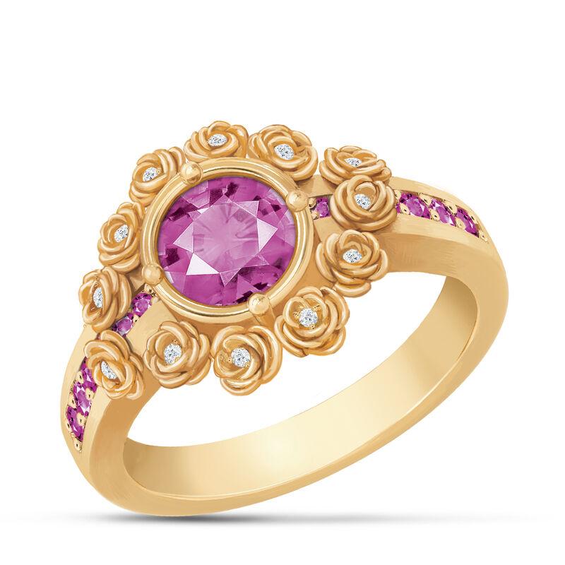 A Dozen Roses Birthstone Diamond Ring 6874 0018 j october
