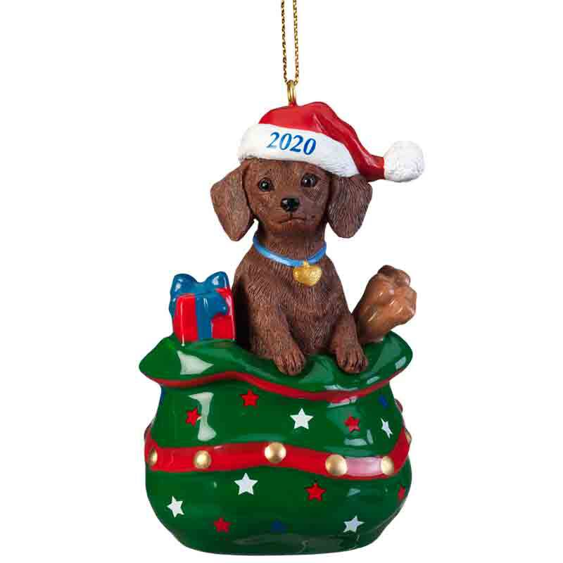 The 2020 Red Dachshund Ornament 6428 029 0 1