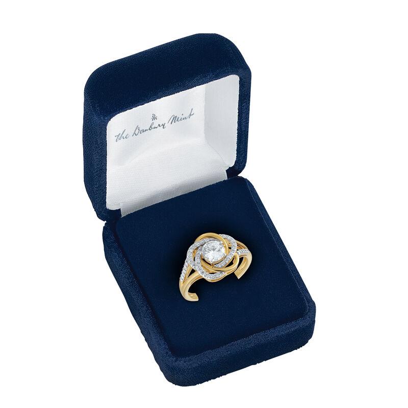 The Love Knot Ring 6720 0014 d velvet box