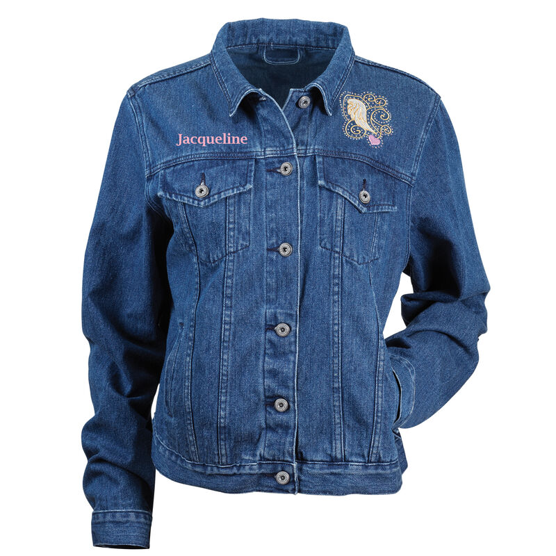 Touched by an Angel Denim Jacket 6681 0011 a main