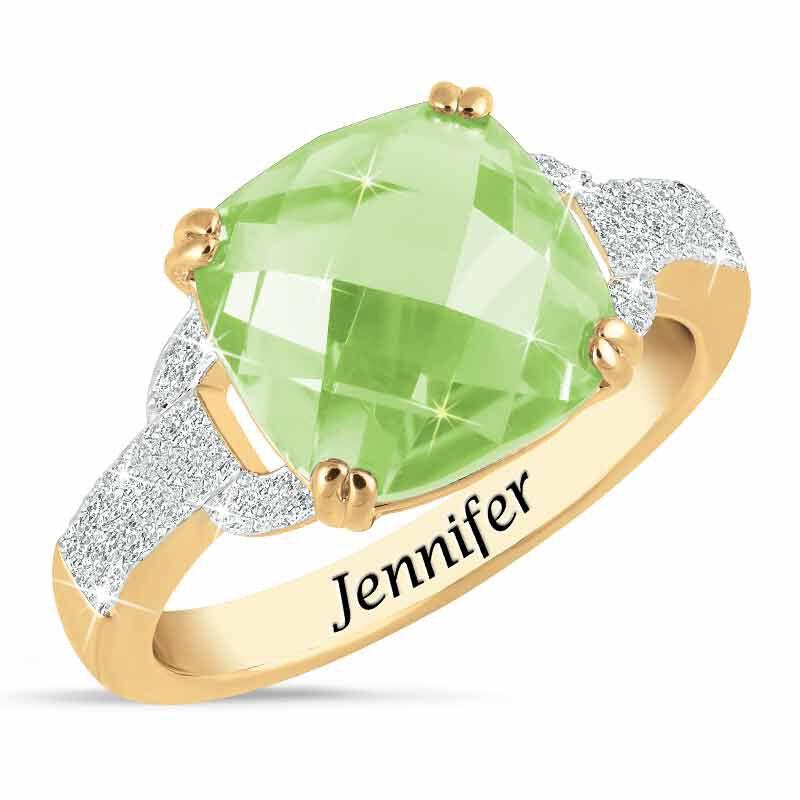 Birthstone  Diamond Ring 1159 001 5 8
