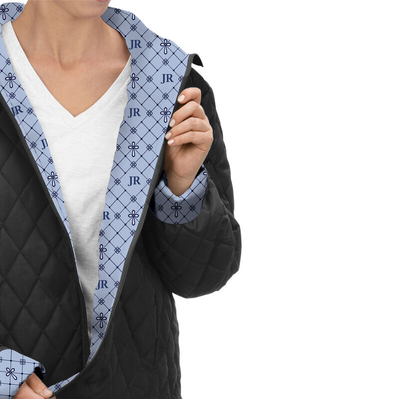 Personalized Womens Cross Quilted Jacket 6566 001 1 2