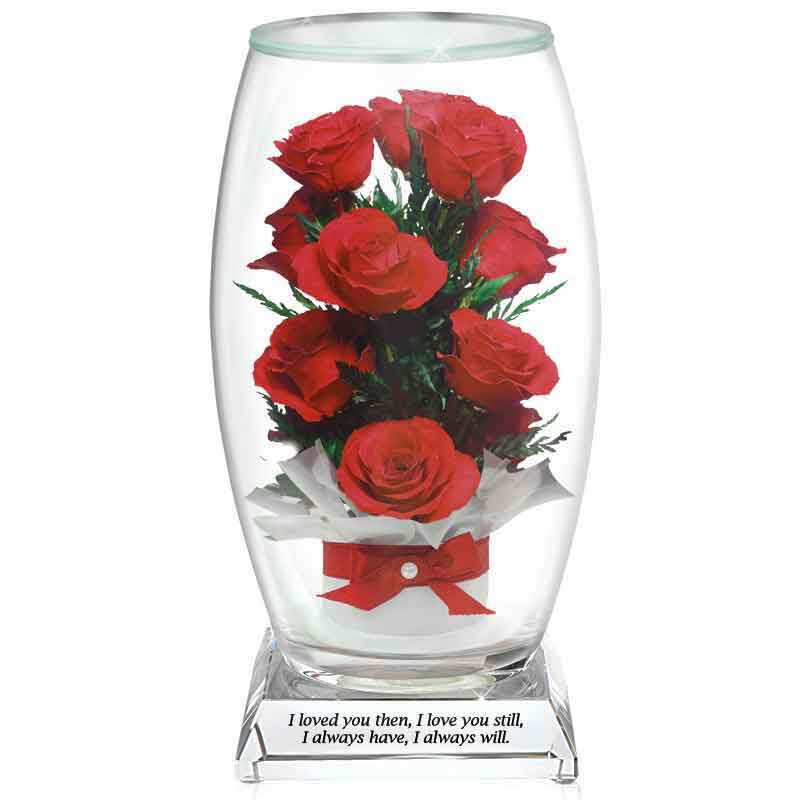Miracle Roses with Inscribed Base 4538 002 9 1