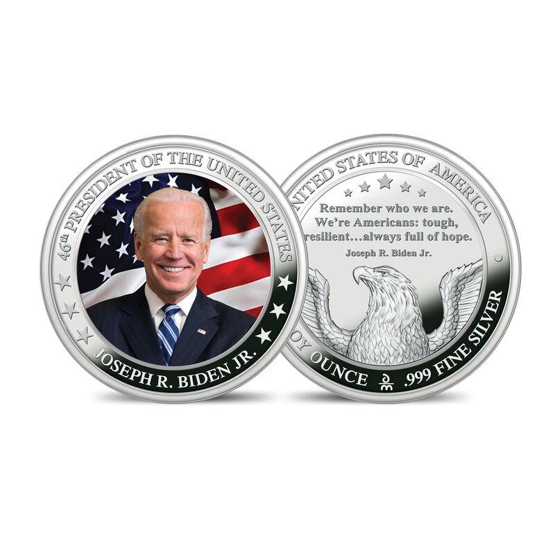 The President Biden and Vice President Harris Silver Bullion Commemorative Set 10236 0013 b bidencommemorative