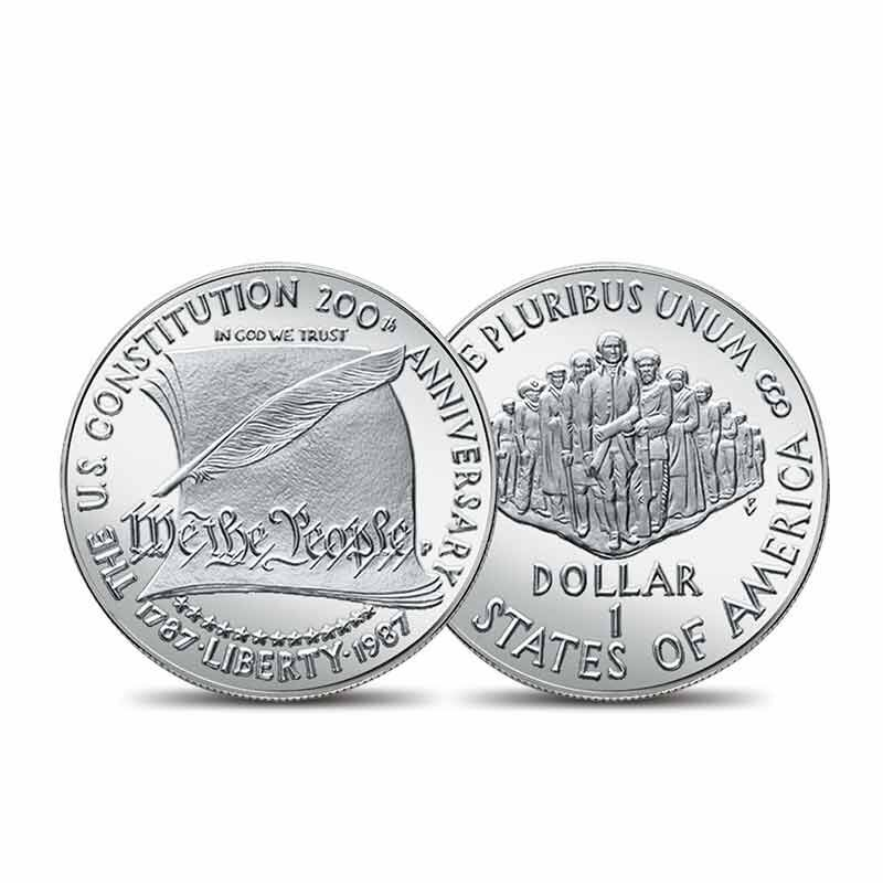 The American Dream US Silver Dollar Collection 6660 0024 b coin1