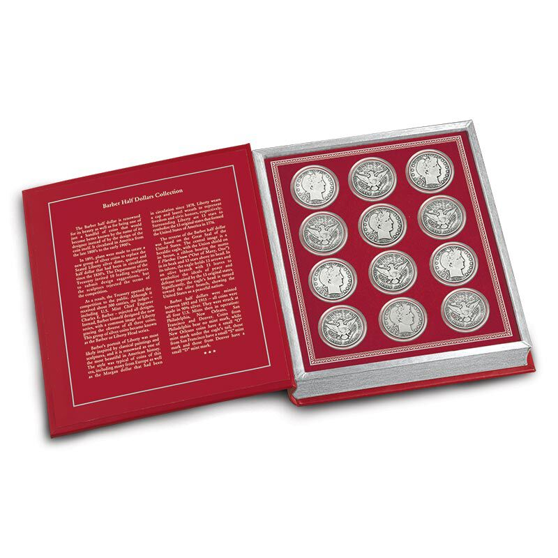 Barber Silver Half Dollars Collection 4809 001 3 1