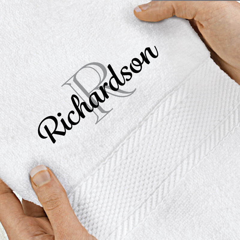 The Personalized Luxury Towel Set 10058 0018 d towel hand