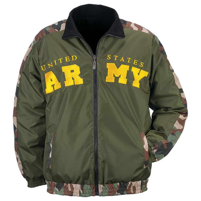 Personalized US Army Reversible Bomber Jacket 5672 001 4 2