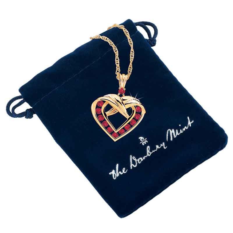 A Dozen Rubies Heart Pendant 9210 004 9 3