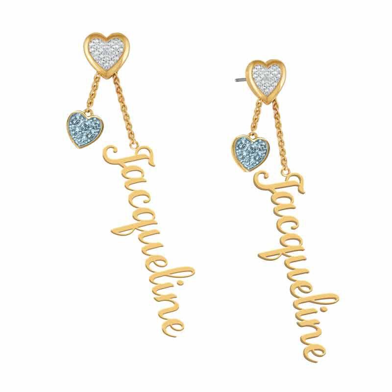 Personalized Birthstone Earrings 6553 001 6 12