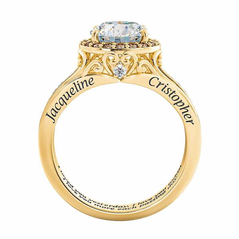 Once Upon A Love Story Personalized Couples Ring 6239 001 8 3