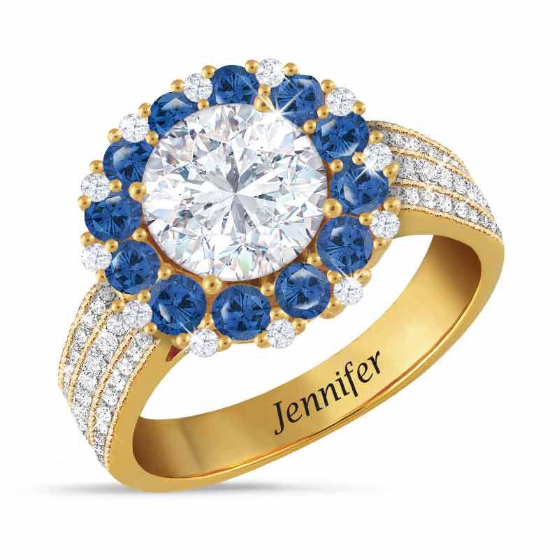 Birthstone Beauty Diamonisse Halo Ring 4924 001 3 9