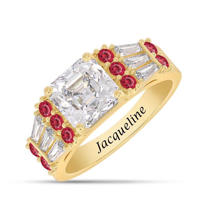 Birthstone Statement Ring 10142 0016 g july