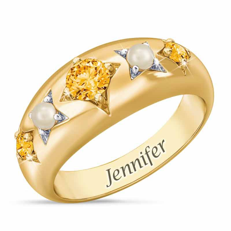 Royal Radiance Personalized Birthstone Ring 1906 001 1 11