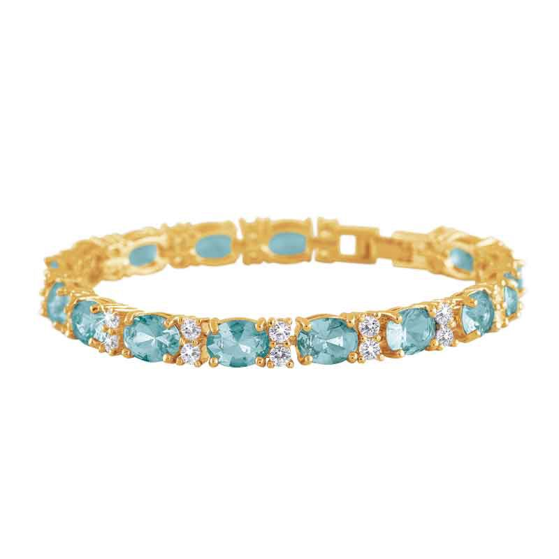 Birthstone Tennis Bracelet 1265 001 6 12