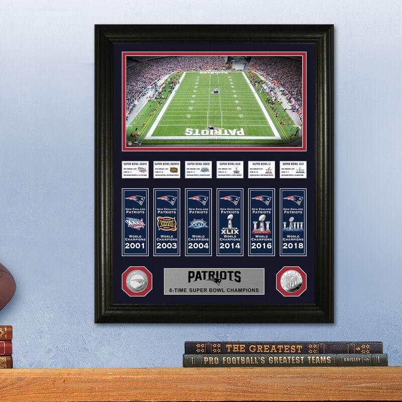 New England Patriots Super Bowl Frame 4391 1668 m room