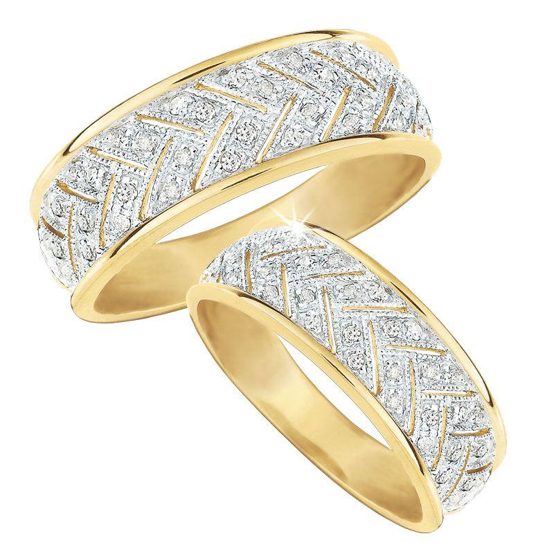 Diamond Fire Ring Set 9454 001 0 1